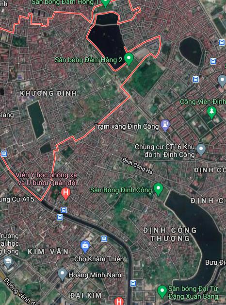 Đường sẽ mở ở phường Khương Đình, Thanh Xuân, Hà Nội - Ảnh 2.