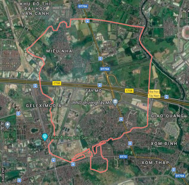 Kế hoạch sử dụng đất phường Tây Mỗ, Nam Từ Liêm, Hà Nội năm 2021 - Ảnh 2.