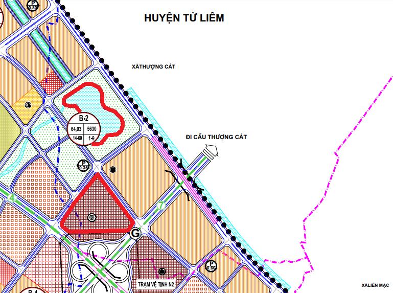 Đất dính quy hoạch ở phường Thượng Cát, Bắc Từ Liêm, Hà Nội - Ảnh 1.