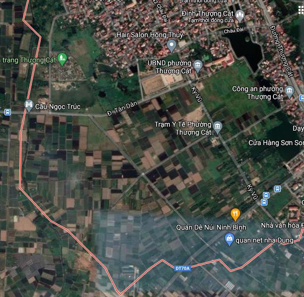 Đất dính quy hoạch ở phường Thượng Cát, Bắc Từ Liêm, Hà Nội - Ảnh 2.