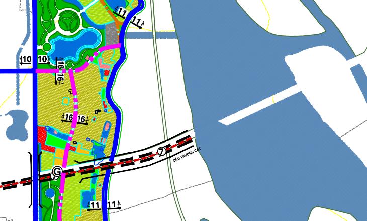 Bản đồ quy hoạch giao thông phường Thượng Cát, Bắc Từ Liêm, Hà Nội - Ảnh 2.