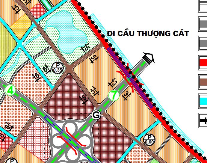 Bản đồ quy hoạch giao thông phường Thượng Cát, Bắc Từ Liêm, Hà Nội - Ảnh 3.