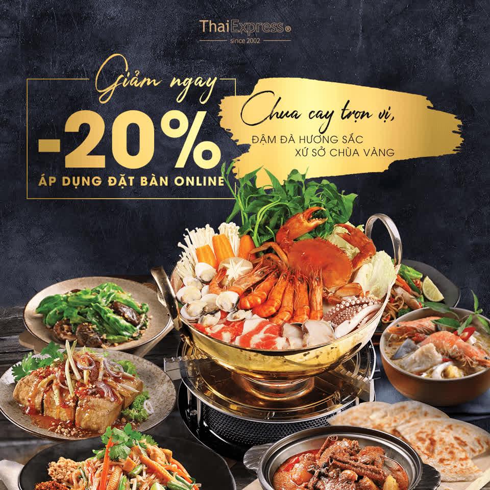 Khuyến mãi ăn uống tuần này (5/4-11/4): ThaiExpress giảm 20%, Bobapop ưu đãi bốc thăm trúng thưởng   - Ảnh 3.