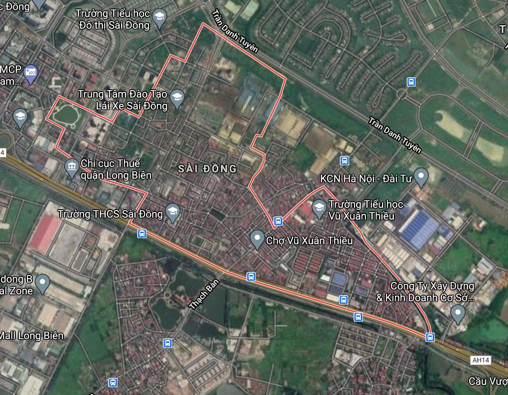 Bản đồ quy hoạch giao thông phường Sài Đồng, Long Biên, Hà Nội - Ảnh 1.