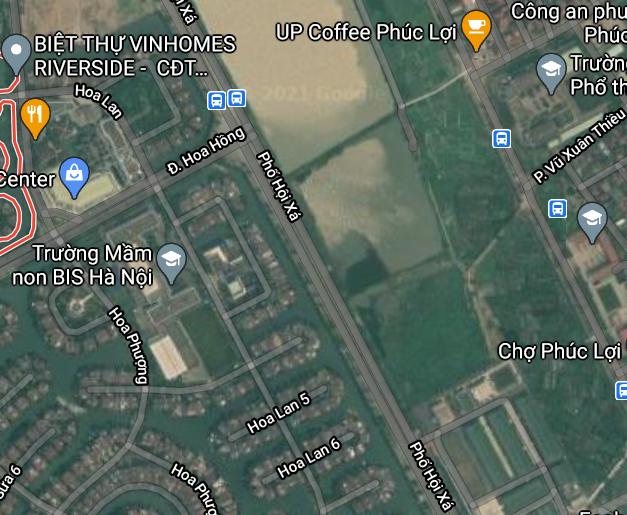 Đất dính quy hoạch ở phường Phúc Lợi, Long Biên, Hà Nội - Ảnh 2.