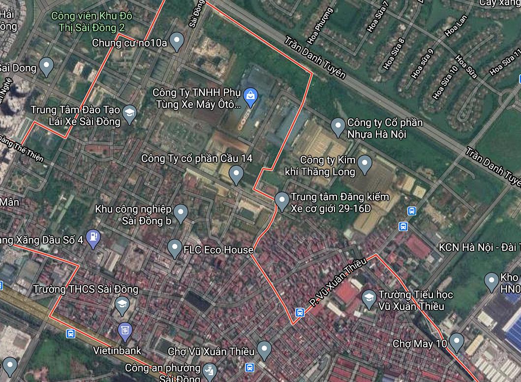 Đường sẽ mở ở phường Sài Đồng, Long Biên, Hà Nội - Ảnh 2.