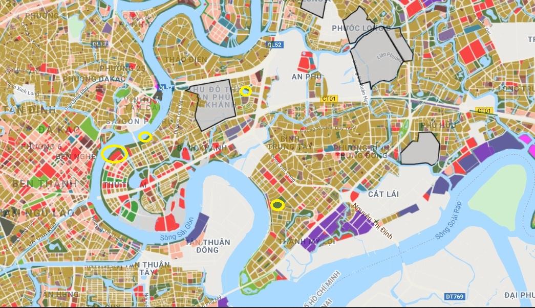 Đất dính quy hoạch ở quận 2, Thủ Đức, TP HCM - Ảnh 2.