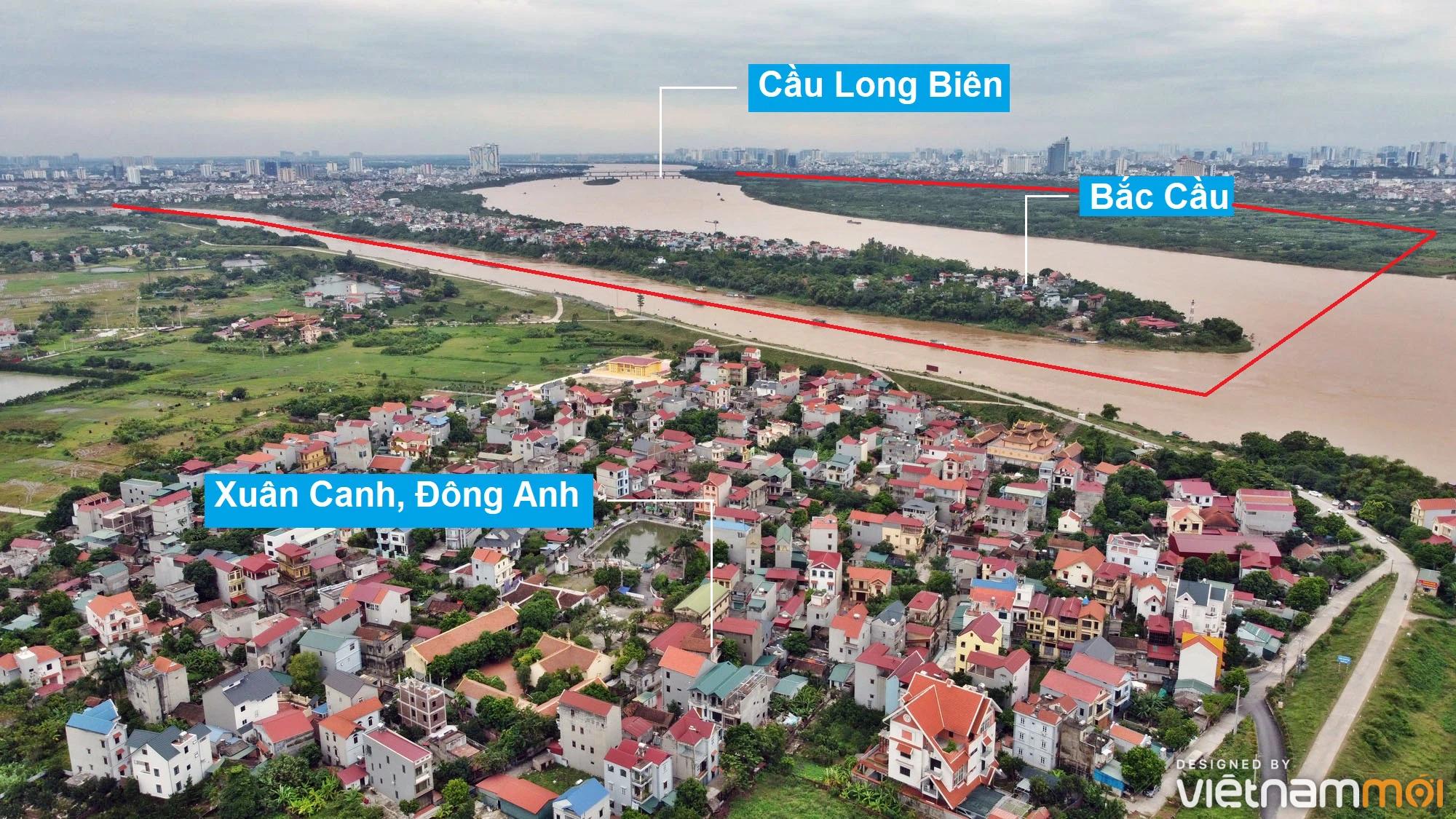 Toàn cảnh hiện trạng Phân khu đô thị sông Hồng trên địa bàn quận Long Biên - Ảnh 2.