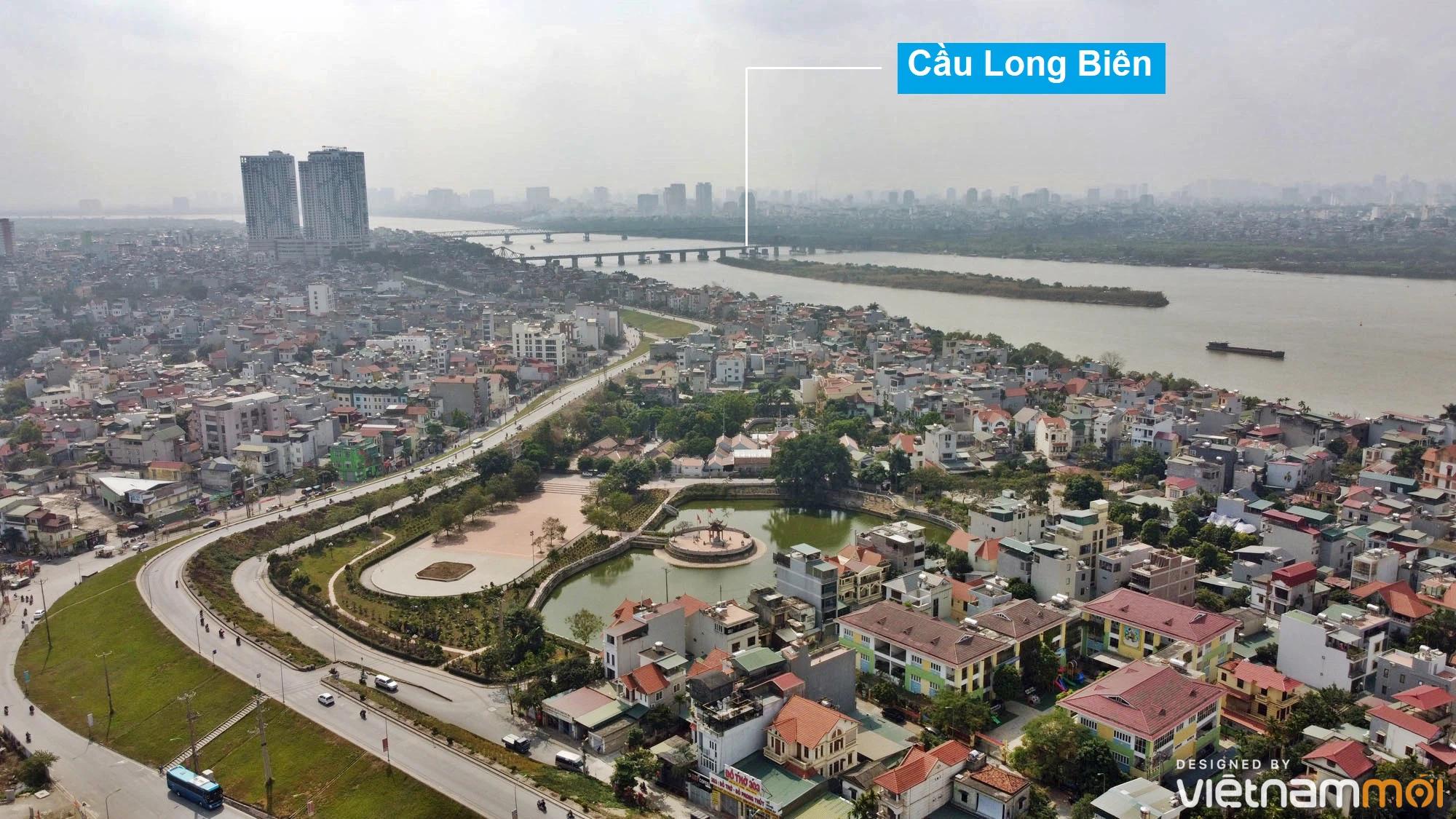 Toàn cảnh hiện trạng Phân khu đô thị sông Hồng trên địa bàn quận Long Biên - Ảnh 7.
