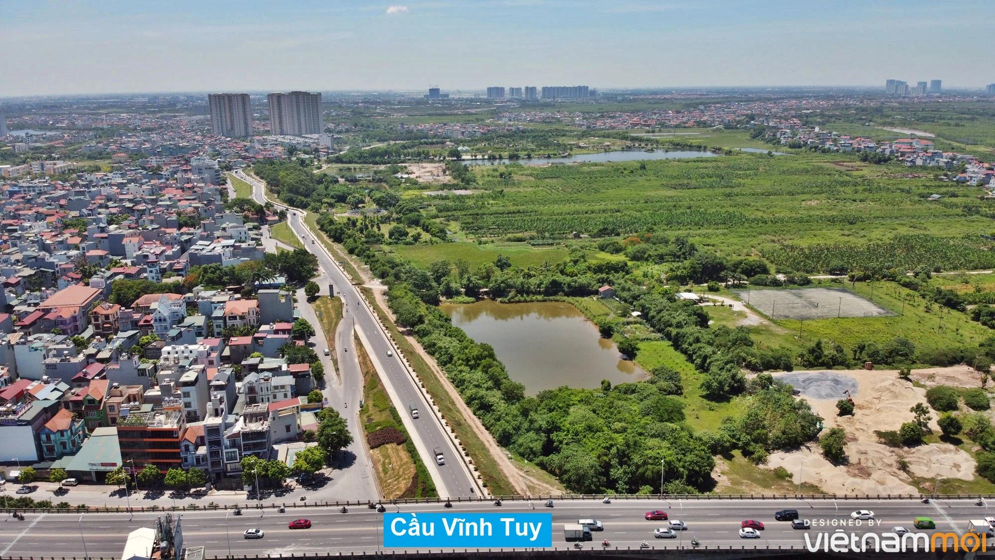 Toàn cảnh hiện trạng Phân khu đô thị sông Hồng trên địa bàn quận Long Biên - Ảnh 20.