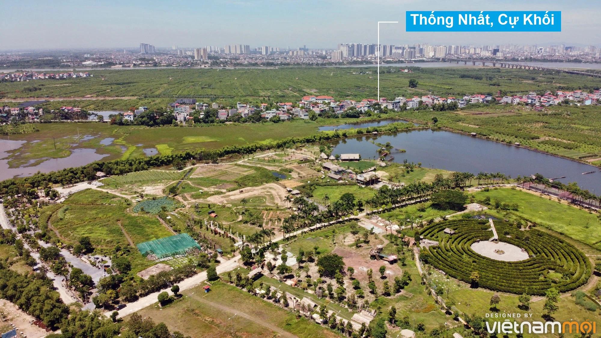 Toàn cảnh hiện trạng Phân khu đô thị sông Hồng trên địa bàn quận Long Biên - Ảnh 25.