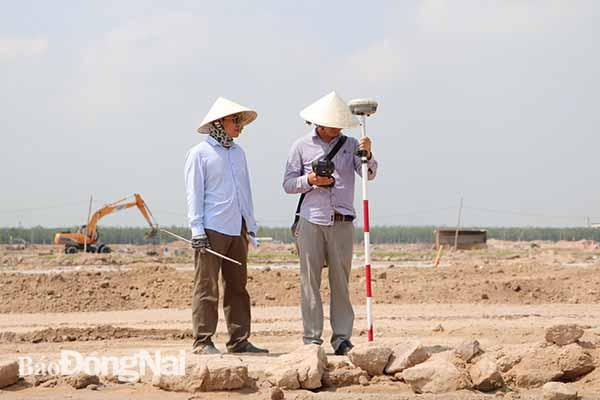 Dự án sân bay Long Thành: Chính thức cắm mốc đất tại khu tái định cư Lộc An - Bình Sơn - Ảnh 1.