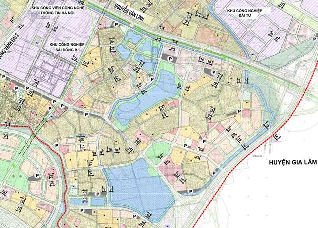 Bản đồ quy hoạch giao thông phường Thạch Bàn, Long Biên, Hà Nội - Ảnh 2.