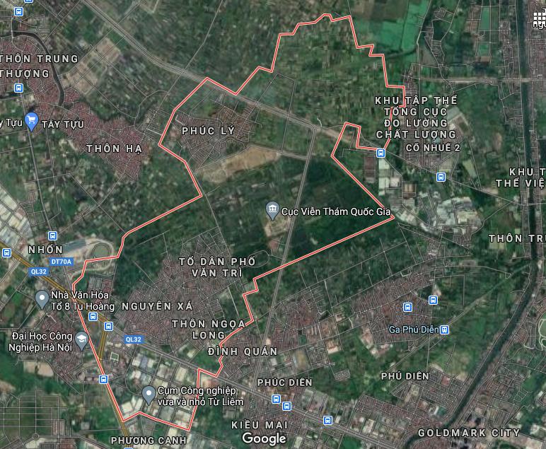 Bản đồ quy hoạch giao thông phường Minh Khai, Bắc Từ Liêm, Hà Nội - Ảnh 1.