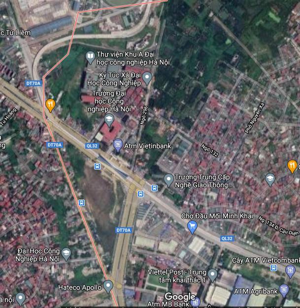Đất dính quy hoạch ở phường Minh Khai, Bắc Từ Liêm, Hà Nội - Ảnh 2.