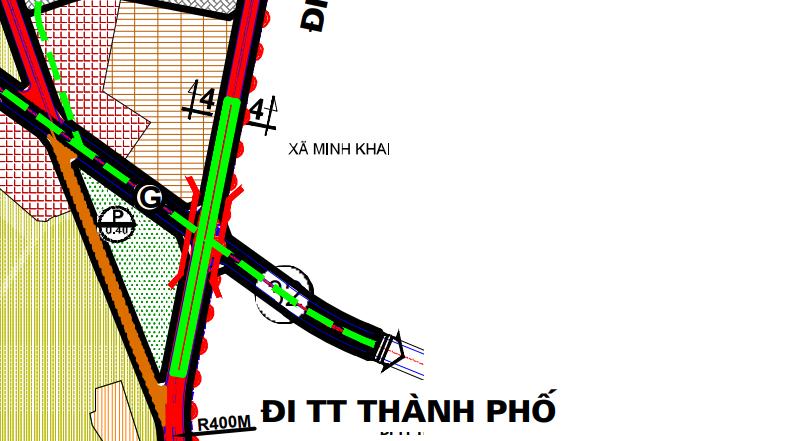 Bản đồ quy hoạch giao thông phường Minh Khai, Bắc Từ Liêm, Hà Nội - Ảnh 3.