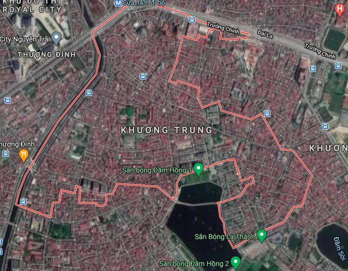 Đường sẽ mở ở phường Khương Trung, Thanh Xuân, Hà Nội - Ảnh 2.