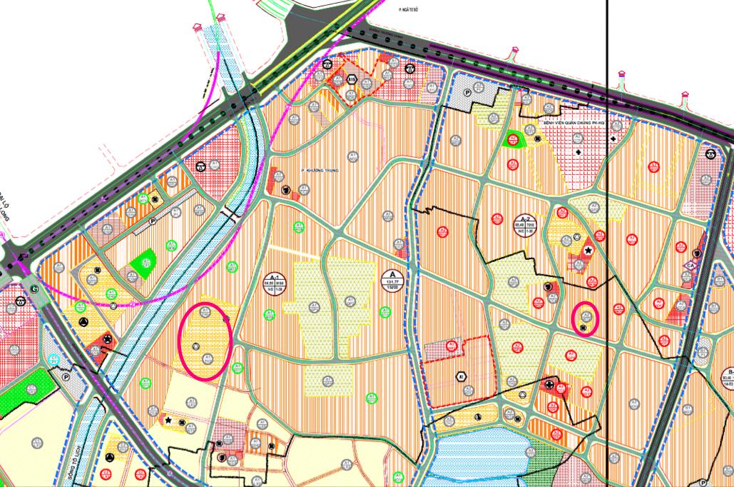 Đất dính quy hoạch ở phường Khương Trung, Thanh Xuân, Hà Nội - Ảnh 1.