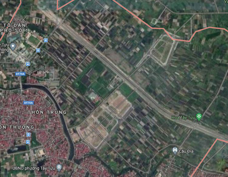 Đất dính quy hoạch ở phường Tây Tựu, Bắc Từ Liêm, Hà Nội - Ảnh 2.