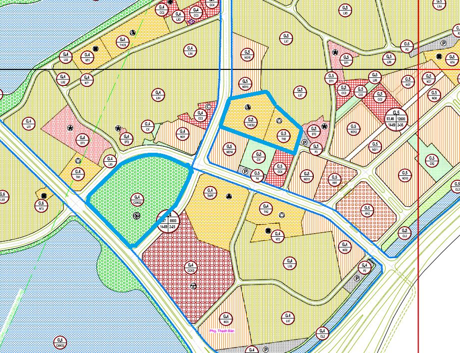 Đất dính quy hoạch ở phường Thạch Bàn, Long Biên, Hà Nội - Ảnh 1.