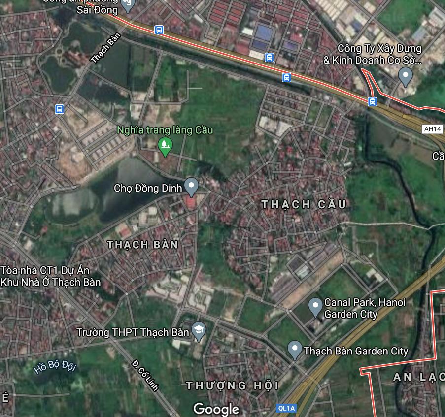 Đường sẽ mở ở phường Thạch Bàn, Long Biên, Hà Nội - Ảnh 2.