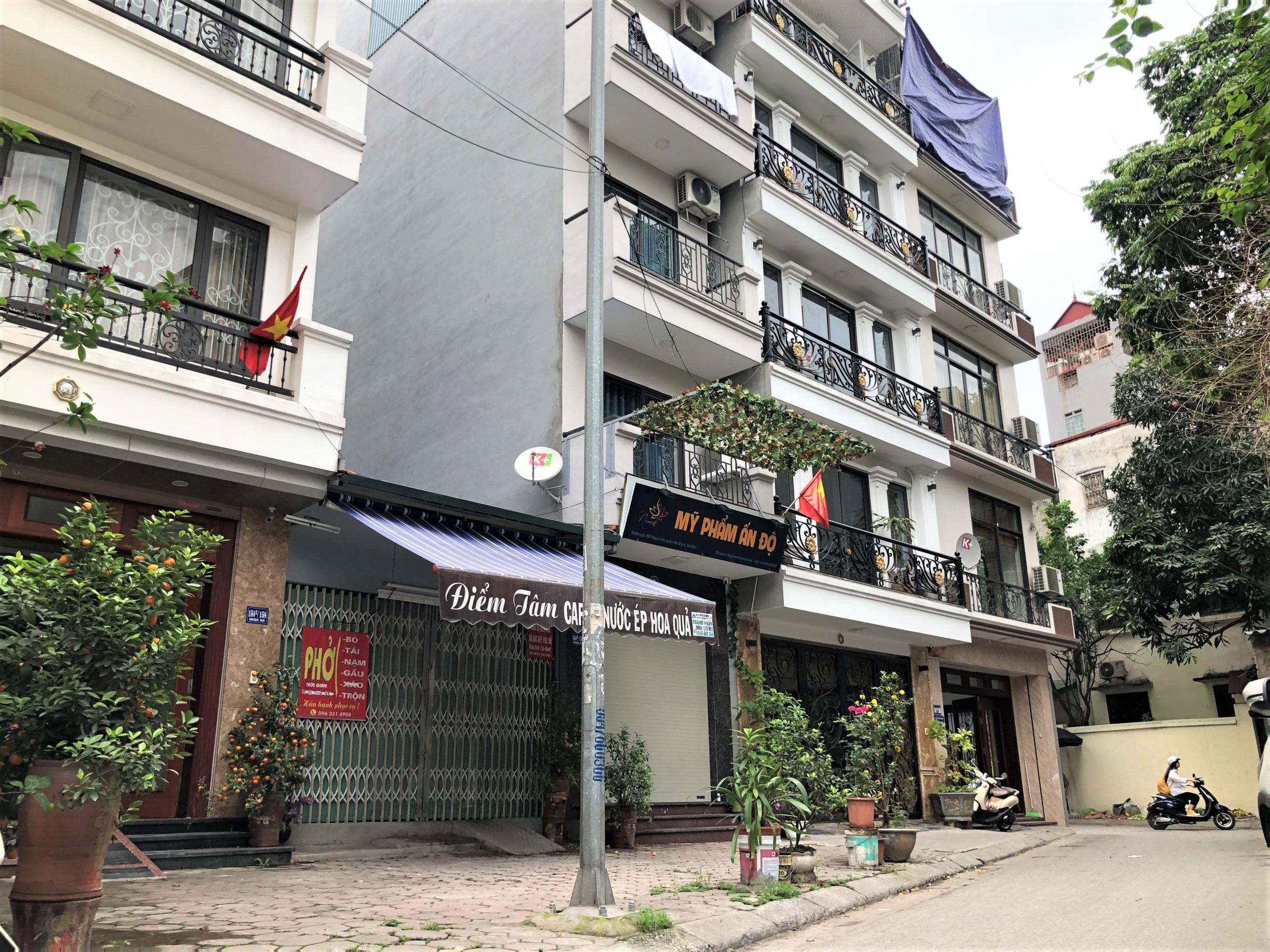 Đường sắp mở theo quy hoạch ở phường Ngọc Hà, quận Ba Đình (phần 1): Đường Kim Mã - Hoàng Hoa Thám  - Ảnh 9.