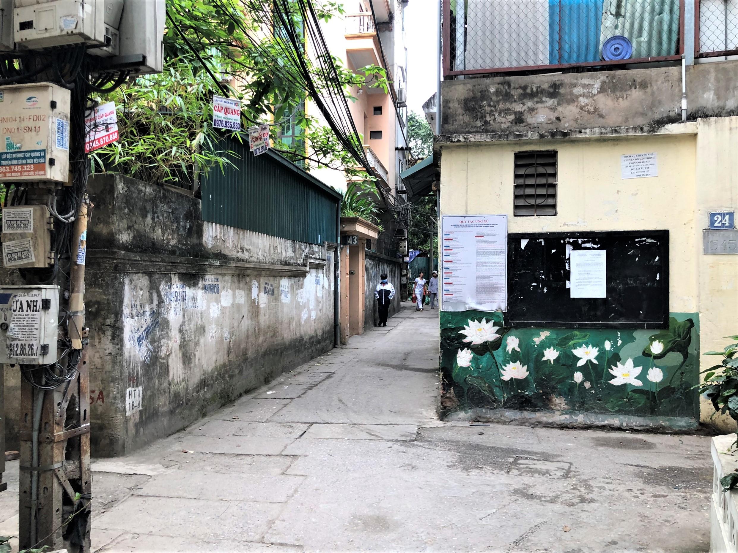 Đường sắp mở theo quy hoạch ở phường Ngọc Hà, quận Ba Đình (phần 1): Đường Kim Mã - Hoàng Hoa Thám  - Ảnh 10.