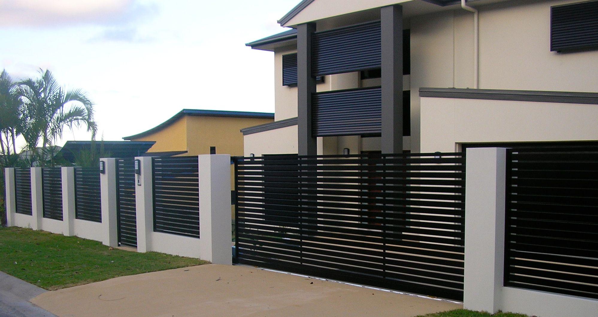 Tham khảo những mẫu hàng rào đẹp cho biệt thự  - Ảnh 4.