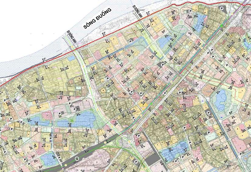 Bản đồ quy hoạch giao thông phường Thượng Thanh, Long Biên, Hà Nội - Ảnh 2.
