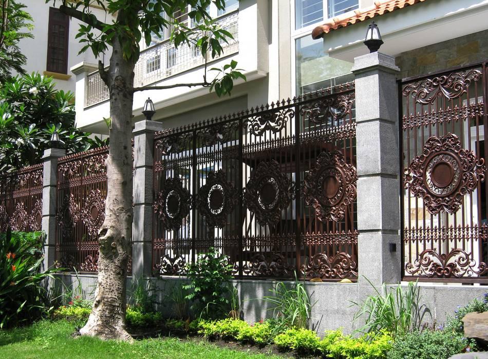 Tham khảo những mẫu hàng rào đẹp cho biệt thự  - Ảnh 2.