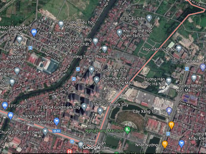 Đất dính quy hoạch ở phường Phú Diễn, Bắc Từ Liêm, Hà Nội - Ảnh 2.