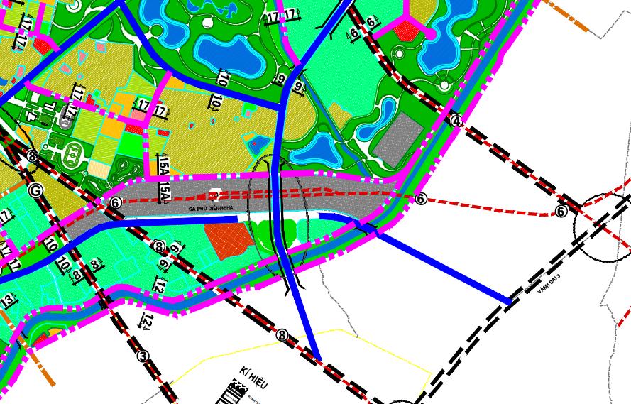 Bản đồ quy hoạch giao thông phường Phú Diễn, Bắc Từ Liêm, Hà Nội - Ảnh 2.
