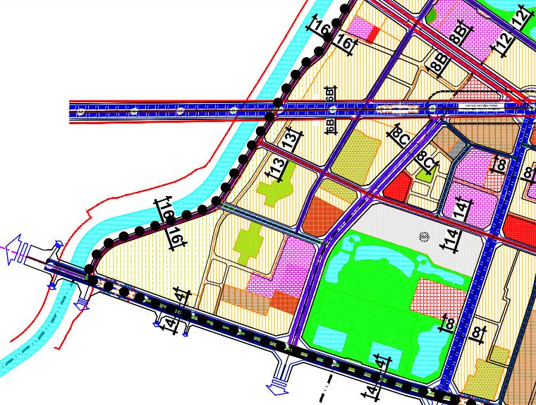 Bản đồ quy hoạch giao thông phường Phú Diễn, Bắc Từ Liêm, Hà Nội - Ảnh 3.