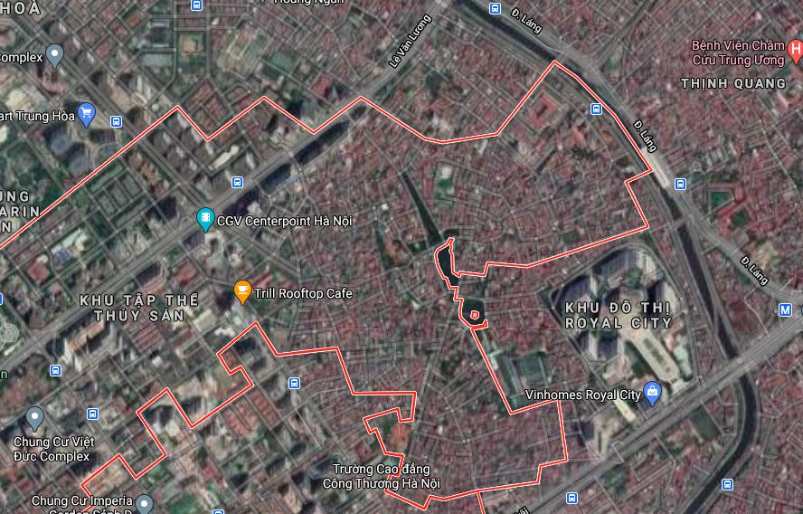 Đường sẽ mở ở phường Nhân Chính, Thanh Xuân, Hà Nội - Ảnh 2.