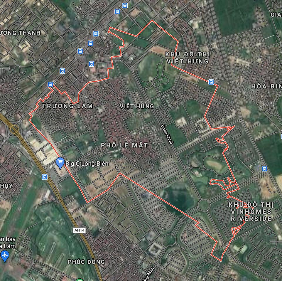 Bản đồ quy hoạch sử dụng đất phường Việt Hưng, Long Biên, Hà Nội - Ảnh 1.