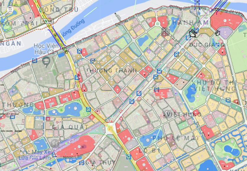 Bản đồ quy hoạch sử dụng đất phường Thượng Thanh, Long Biên, Hà Nội - Ảnh 2.