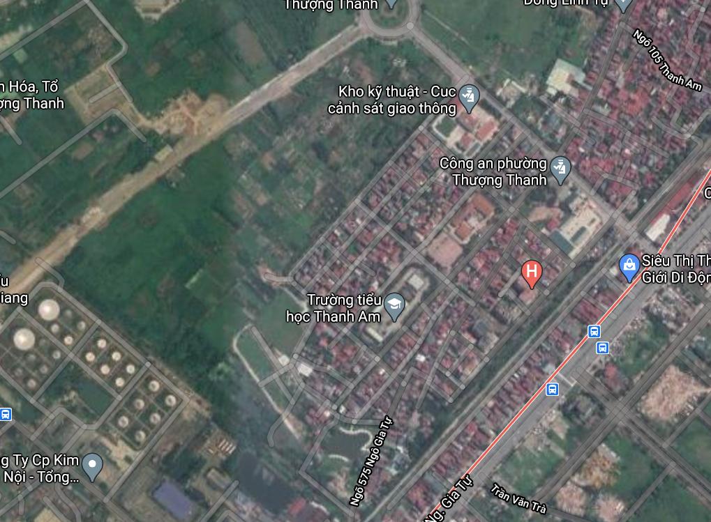Đất dính quy hoạch ở phường Thượng Thanh, Long Biên, Hà Nội - Ảnh 2.