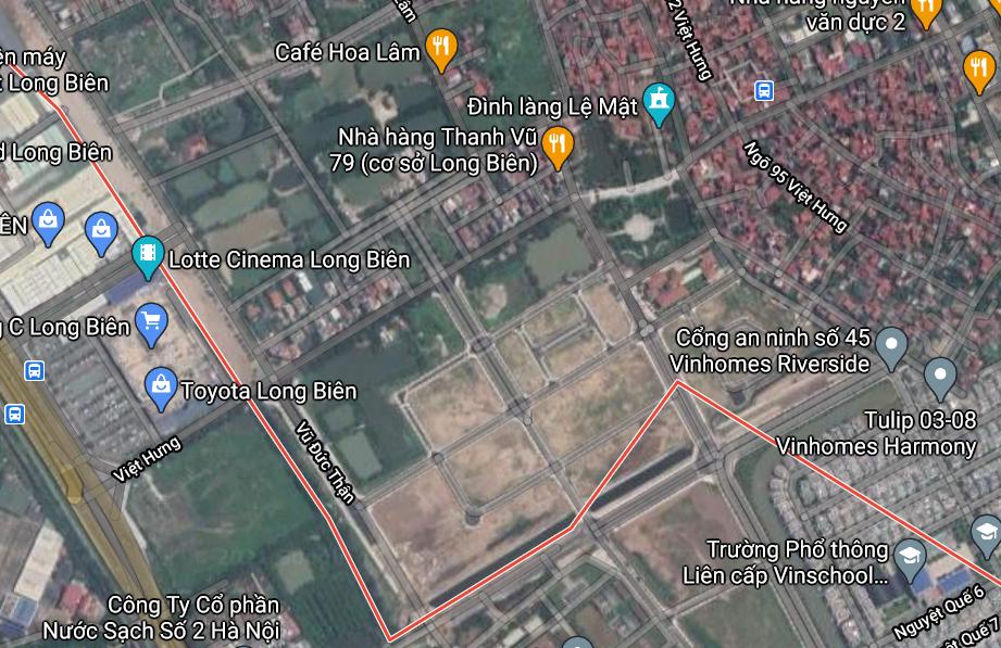 Đất dính quy hoạch ở phường Việt Hưng, Long Biên, Hà Nội - Ảnh 2.