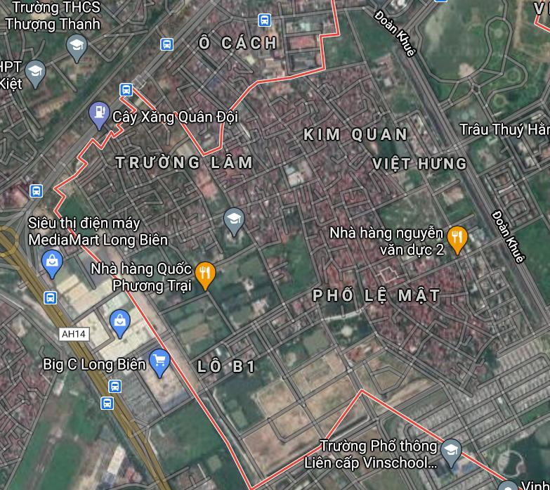 Đường sẽ mở ở phường Việt Hưng, Long Biên, Hà Nội - Ảnh 2.