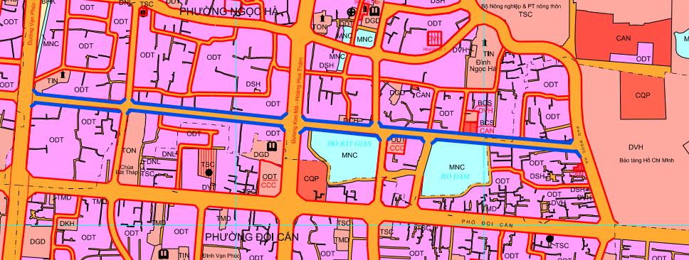 Đường sắp mở theo quy hoạch ở phường Ngọc Hà, Ba Đình, Hà Nội (phần 2): Đường nối ngõ 279 Đội Cấn - phố Ngọc Hà  - Ảnh 1.