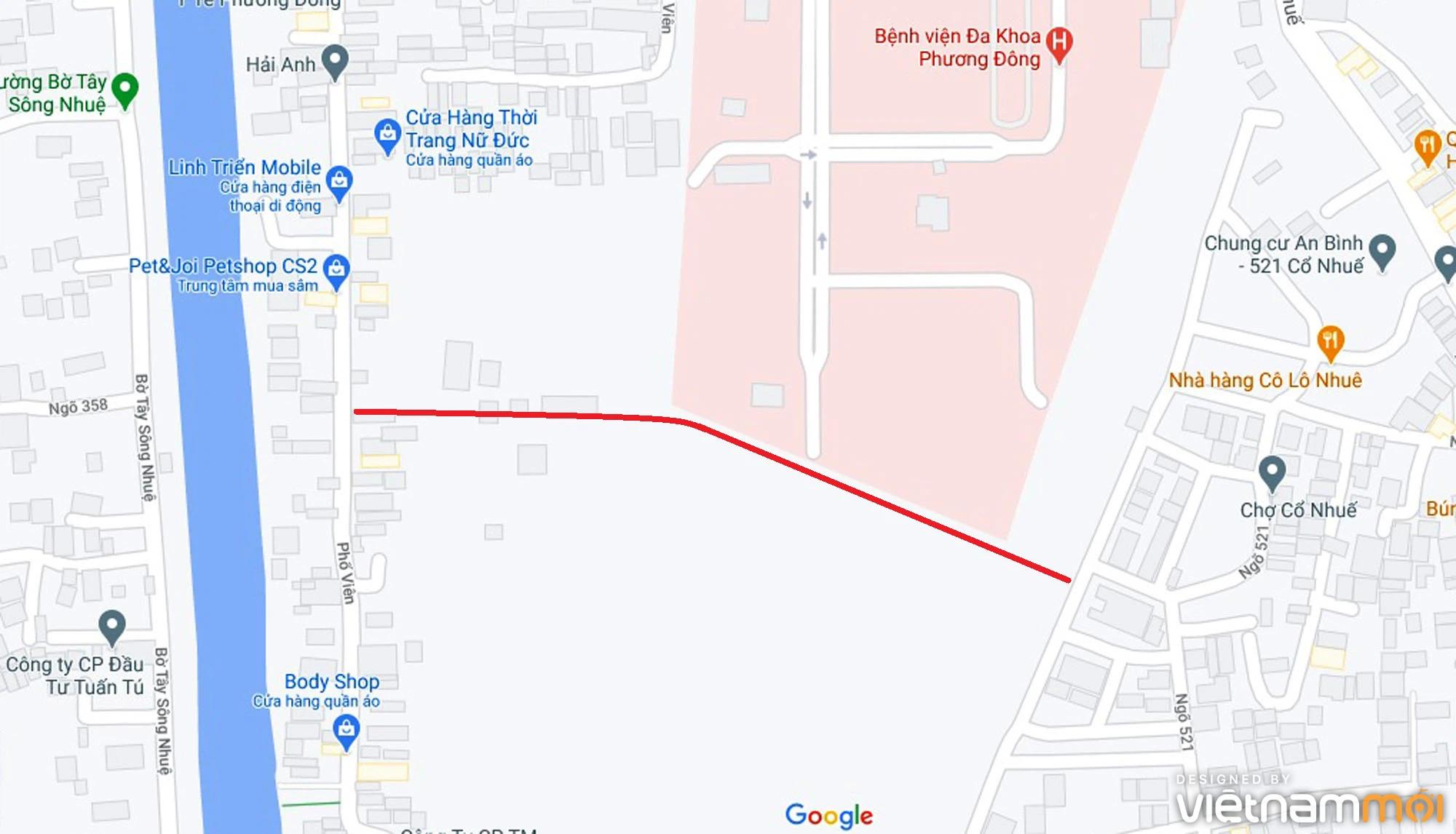 Ba đường sẽ mở theo qui hoạch ở phường Cổ Nhuế 2, Bắc Từ Liêm, Hà Nội (phần 2) - Ảnh 6.