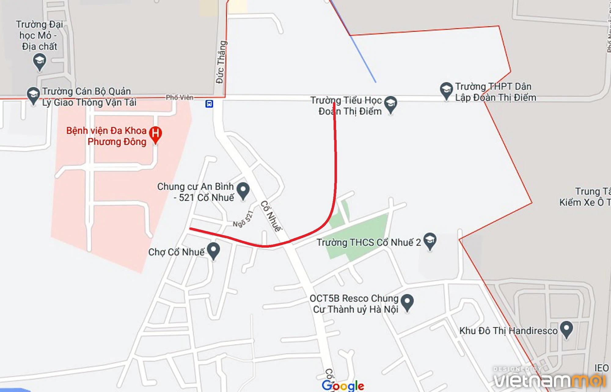 Ba đường sẽ mở theo qui hoạch ở phường Cổ Nhuế 2, Bắc Từ Liêm, Hà Nội (phần 2) - Ảnh 10.