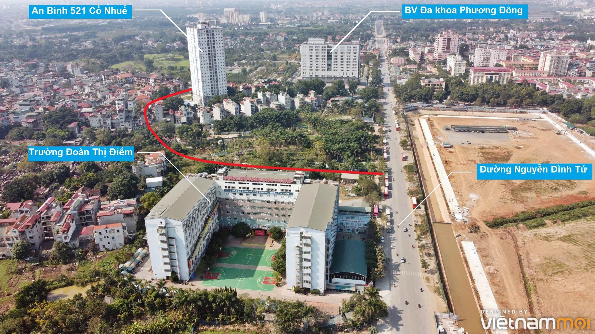 Ba đường sẽ mở theo qui hoạch ở phường Cổ Nhuế 2, Bắc Từ Liêm, Hà Nội (phần 2) - Ảnh 12.