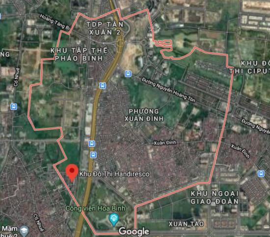 Bản đồ quy hoạch giao thông phường Xuân Đỉnh, Bắc Từ Liêm, Hà Nội - Ảnh 1.