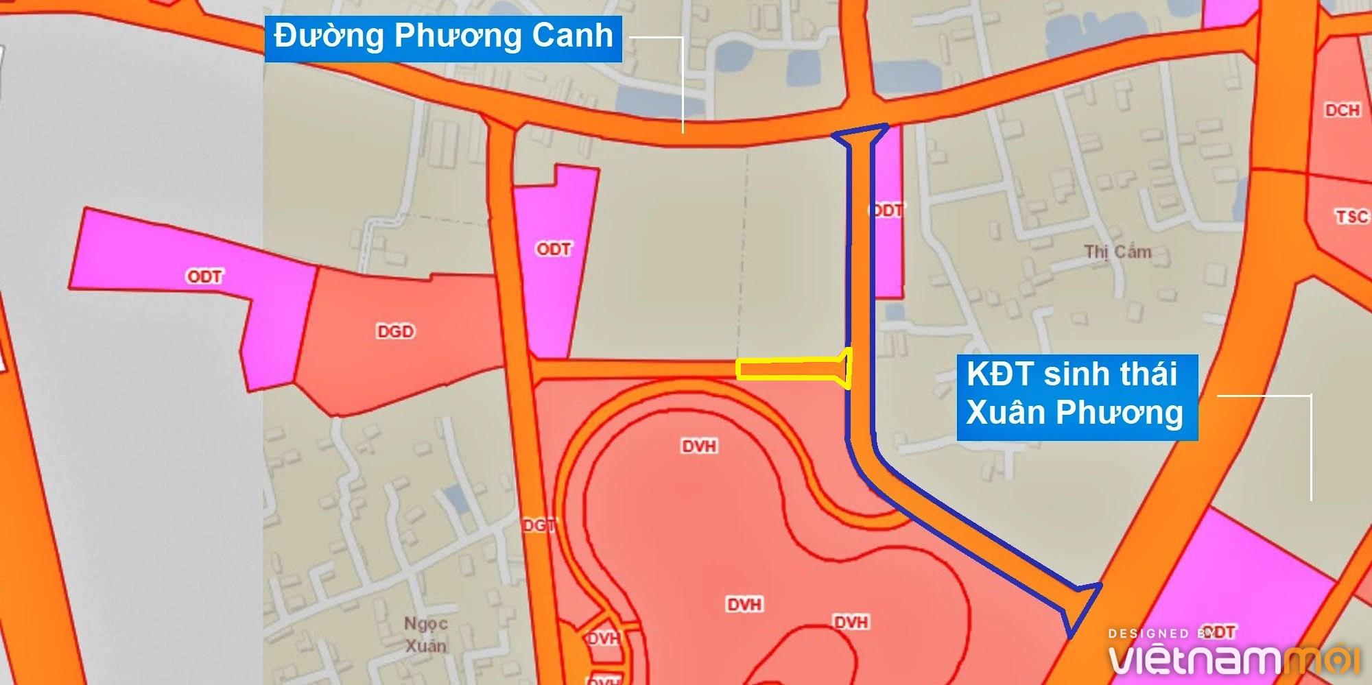 Những khu đất sắp thu hồi để mở đường ở phường Xuân Phương, Nam Từ Liêm, Hà Nội (phần 3) - Ảnh 6.