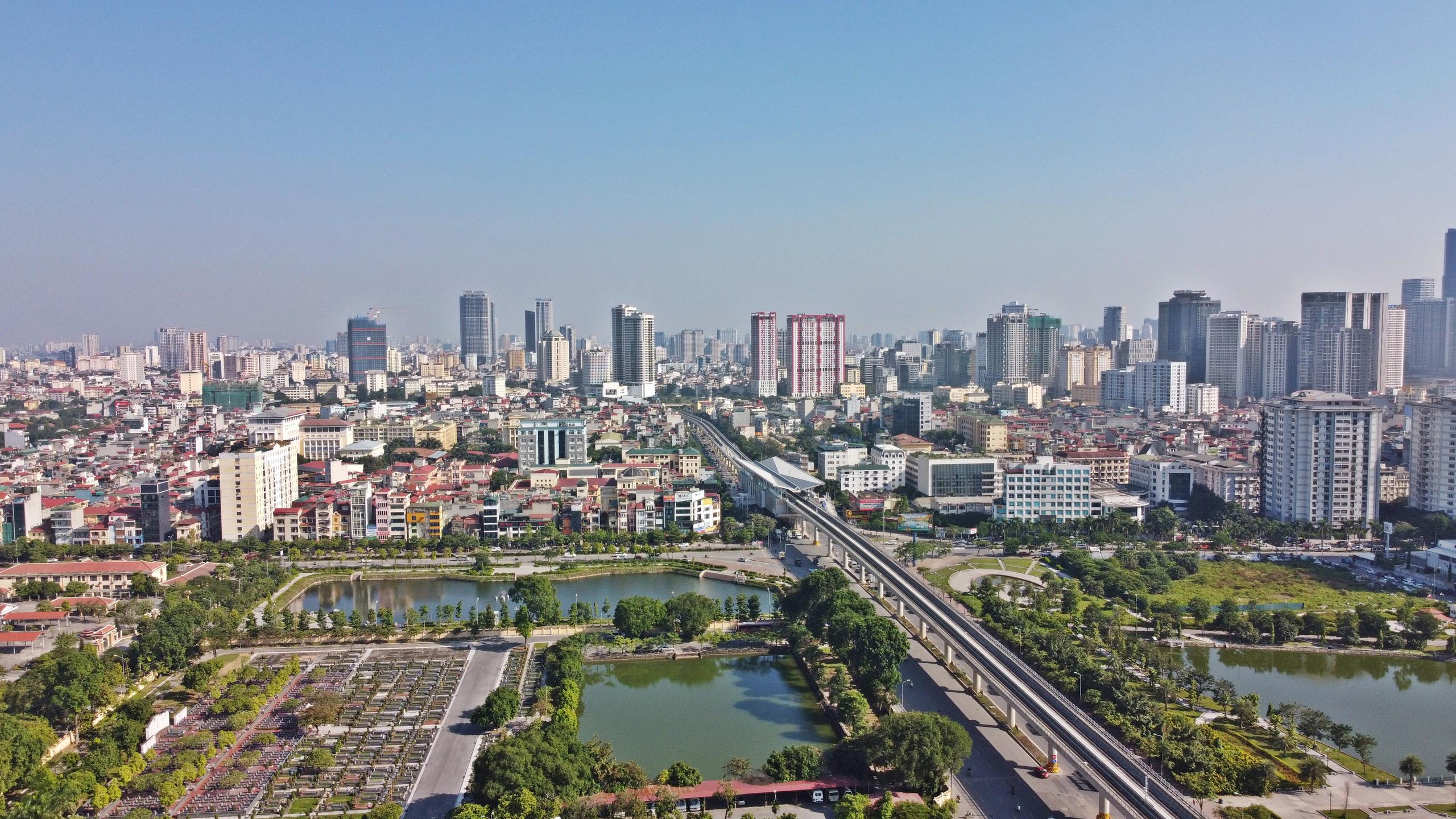 Tiến độ tổng thể dự án đường sắt Nhổn - ga Hà Nội đoạn trên cao đạt hơn 86% - Ảnh 1.
