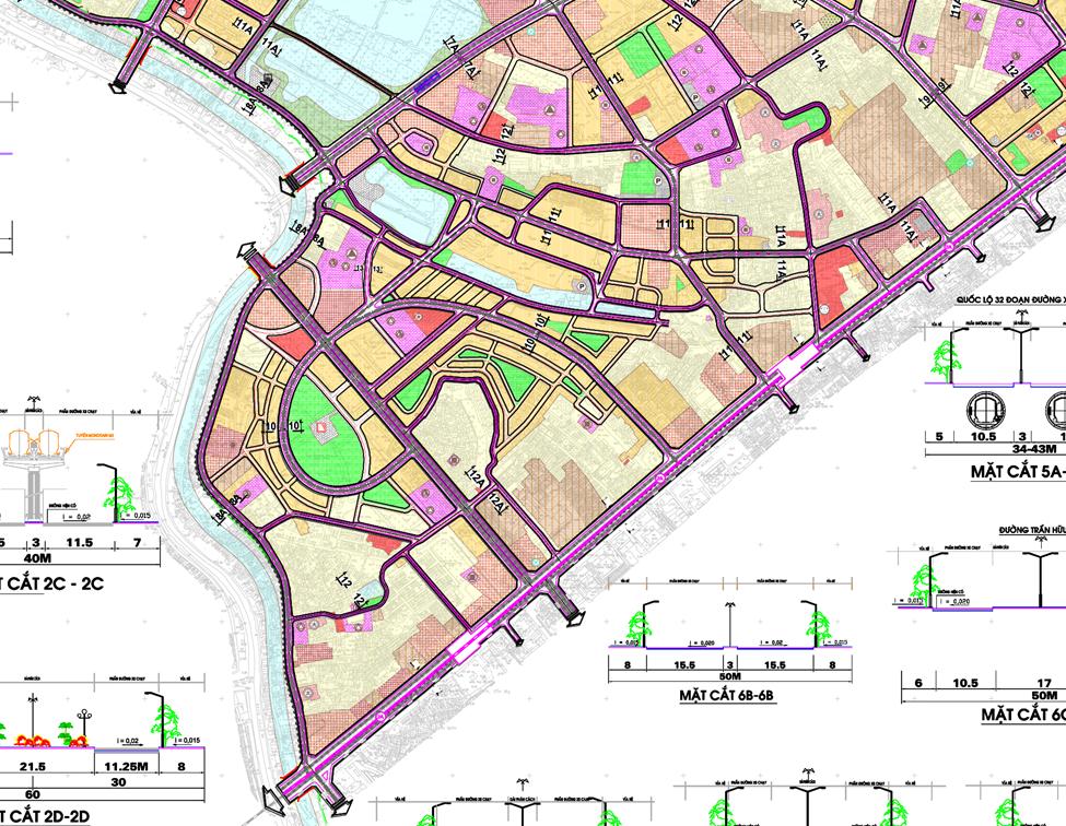 Bản đồ quy hoạch giao thông quận Hà Đông, Hà Nội - Ảnh 3.