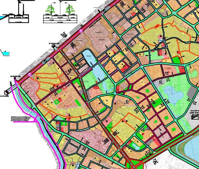 Bản đồ quy hoạch giao thông quận Hà Đông, Hà Nội - Ảnh 4.