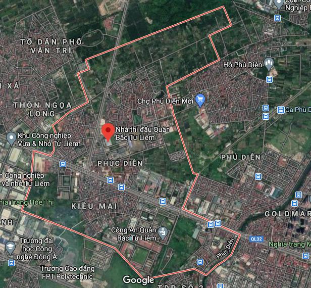 Bản đồ quy hoạch sử dụng đất phường Phúc Diễn, Bắc Từ Liêm, Hà Nội - Ảnh 1.