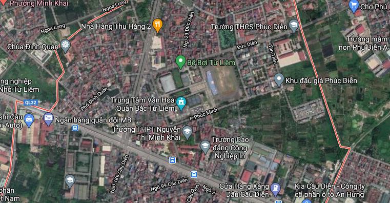Đường sẽ mở ở phường Phúc Diễn, Bắc Từ Liêm, Hà Nội - Ảnh 2.